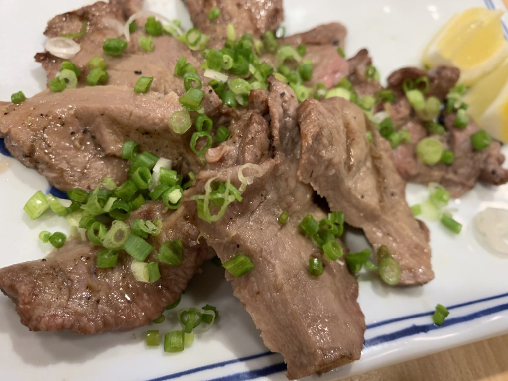 ヒナタ 厚切り牛タン塩焼き