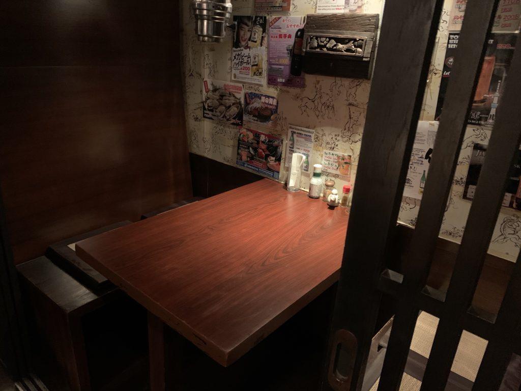 大升シーロム店 店内 2階