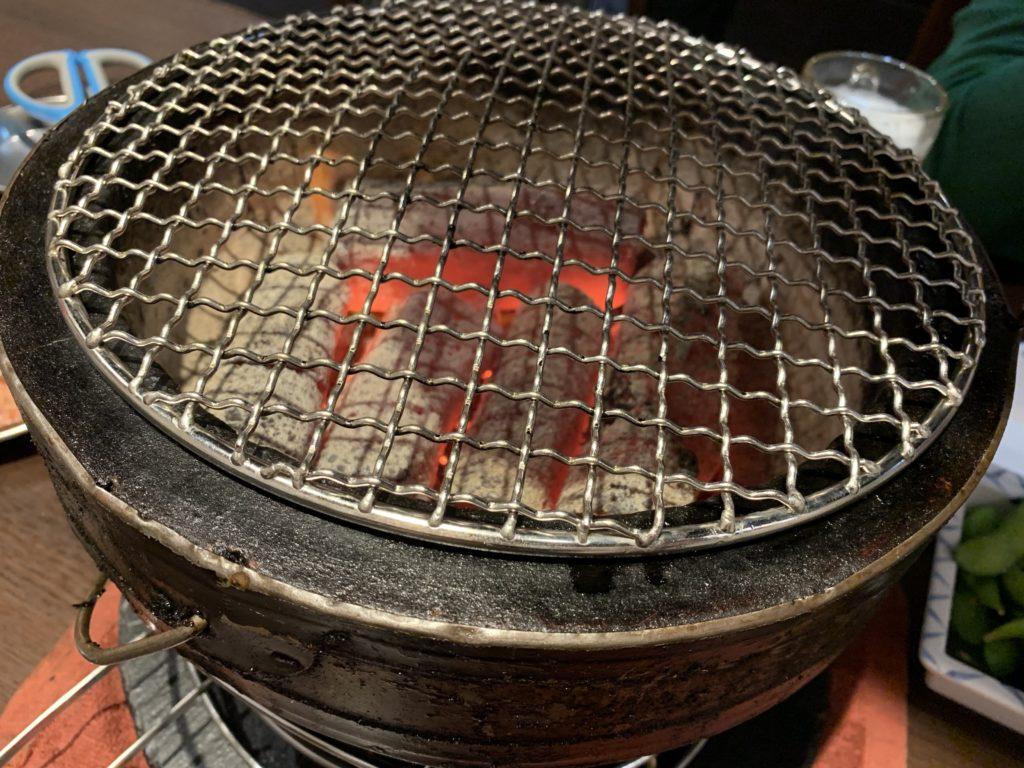 大阪焼肉バカ一代 七輪