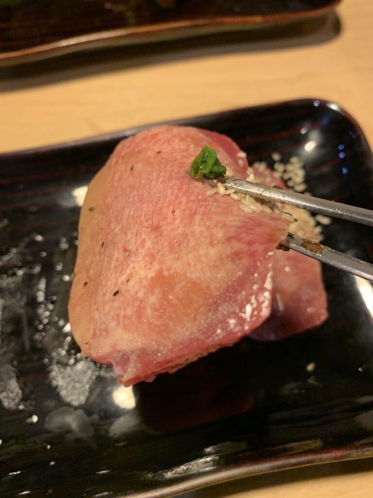 ホルモン焼肉平嶋 塩タン