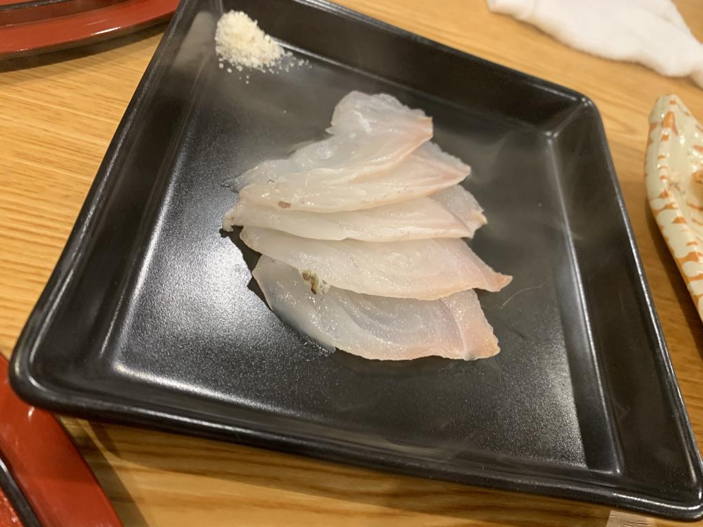小料理結び 真鯛の燻製