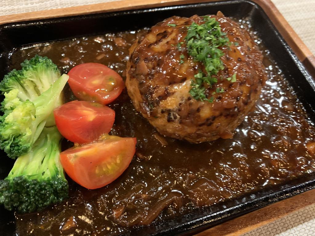 一五酒場(ICHIGO's Dining) ハンバーグ