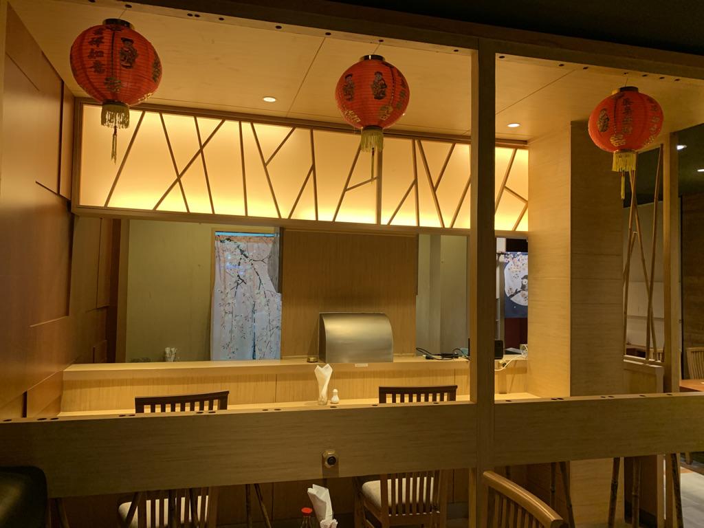 東京中華飯店 店内