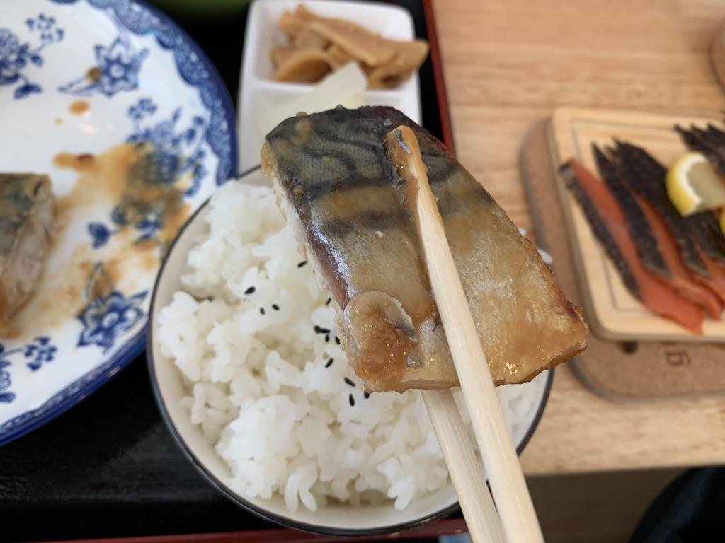 ひまわり食堂 さばの味噌煮