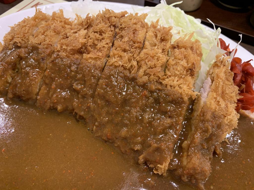 神戸トンテキ カツカレー