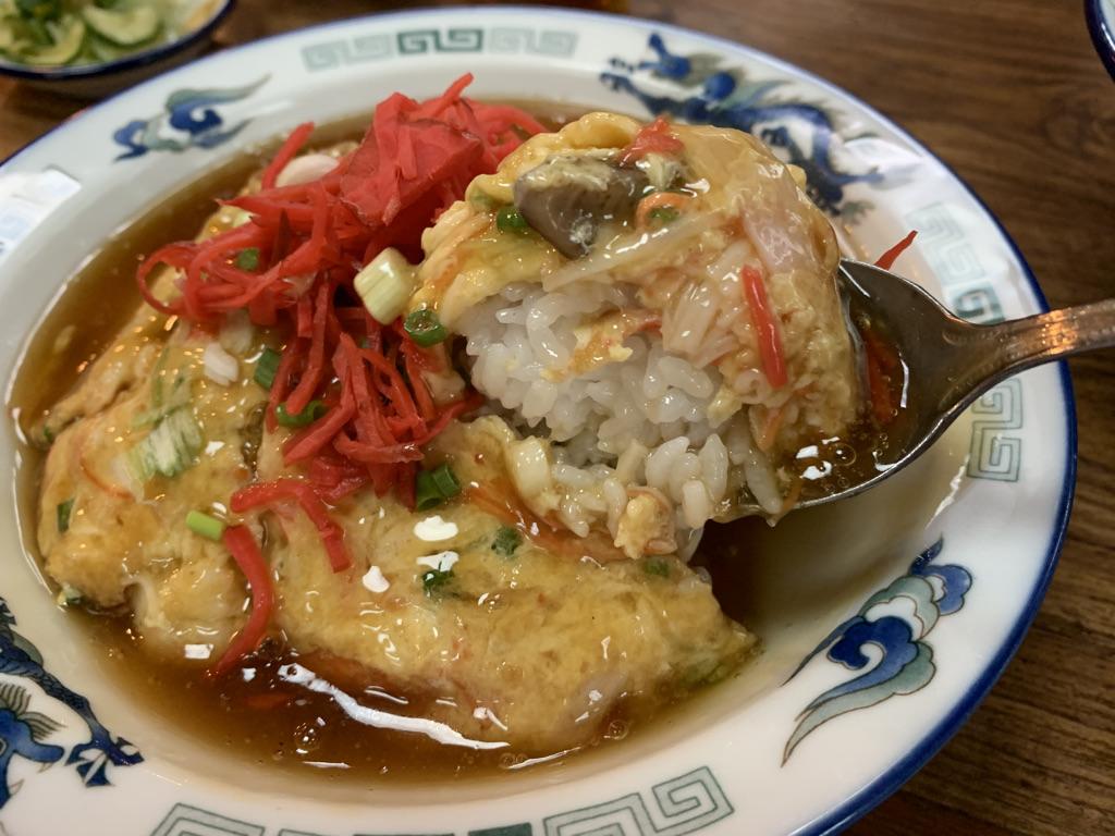 ラーメン亭 天津丼