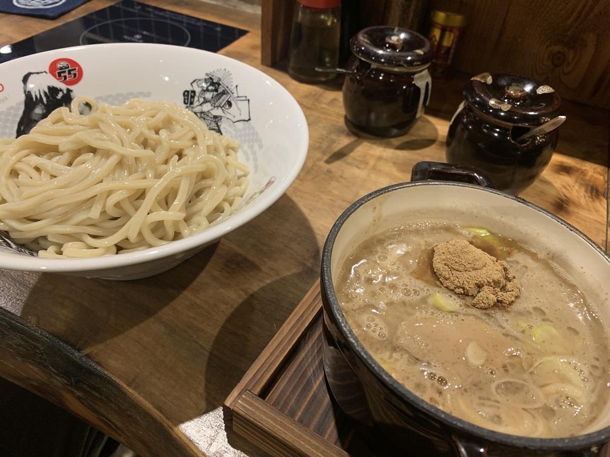 フジヤマ55 プラカノン店 濃厚つけ麺