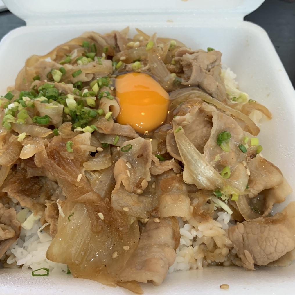 スタ丼(230バーツ)